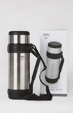 Термос Thermos Nissan Beverage Bottle with Folding Handle 1,8L