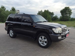 Toyota Land Cruiser 100, vip-комплектация