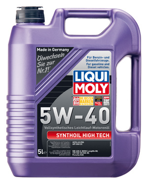 Моторное масло Liqui Moly Synthoil High Tech 5W-40 4л.