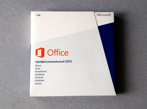Microsoft Office 2013 Pro 32-bitx64 Rus CEE Only EM DVD (269-16288)