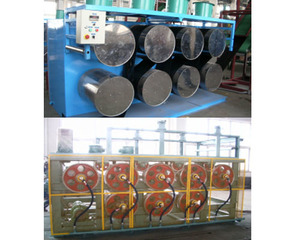 Four roll rubber calenderSlab Cooling Unit/ Rubber cooling machine