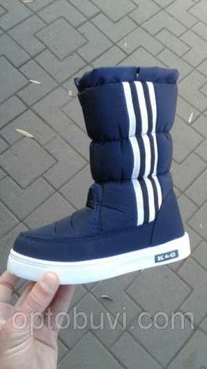 2eabfc2d4 Резиновая обувь детская. 132 ₴ Хмельницкий. Дутики детские синие адидас K&G  оптом