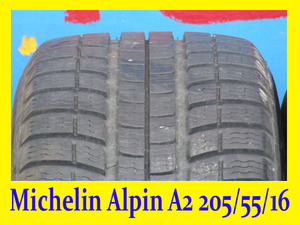 Зимний Michelin Alpin-A2 205/55/16 (8. 5 мм)