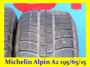 Новый Michelin Alpin A2 195/65/15