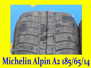 Michelin Alpin A2 185/65/14 (пара)
