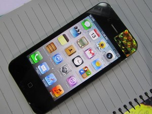 Китайский телефон iPhone 4S MTK 6573 Android 4. 0. 9