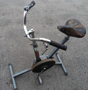 Как самому сделать велотренажер 180
