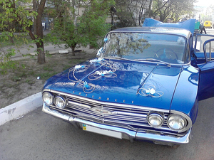 Ретро автомобиль Chevrolet Bel Air