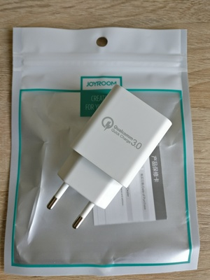 Зарядное Joyroom, Quick Charge 3.0, оригинал